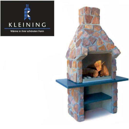 Kleining Gartenkamin, Gartengrill 714 Naturstein
