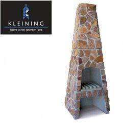 Kleining Gartenkamin, Grill, Feuerpyramide 719 Naturstein