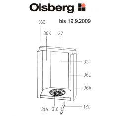 Olsberg Alid Rostlager Pos. 31A - 23/4081.1201