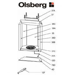 Olsberg Antuco Seitenstein hi re Pos. 36D - 23/5461.1254