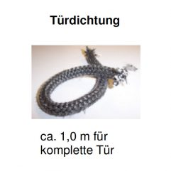 Olsberg Format 6 Türdichtung 1m, 12mm - 75/1903-0121