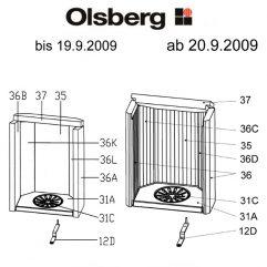 Olsberg Golaya Rost, Rundrost Pos. 31C - 23/4081.1202