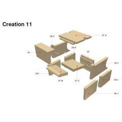 Olsberg Creation 11 Schamottesatz komplett - 21/5641-9200