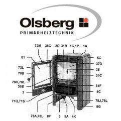 Olsberg Skagen 5 Schamotte Set Ersatzteile