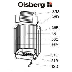 Olsberg Sotara Compact Seitenstein li Pos. 36A - 23/5861.1252
