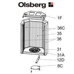 Olsberg Tolima PowerSystem Rost, Rundrost Pos. 31 - 23/4081.1202