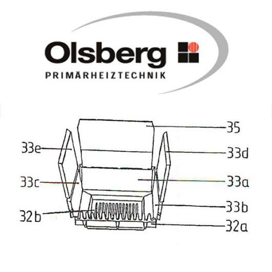 Olsberg Vario 24 - 11/118 - 11/119 Flachrost Pos. 32b - 11/4080.1201