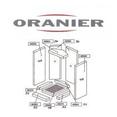 Oranier Artemis Vertiko 8150 Rost, Feuerrost Pos. 48 - 2899693000