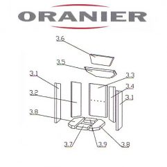 Oranier Kiruna 4 Seitenstein 4549 Serie 1 - Pos 3.1 - 2901383000
