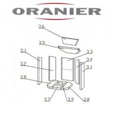Oranier Kiruna 4 Serie 1 Seitenstein links Pos 3.2 - 2917414000