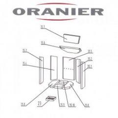 Oranier Kiruna 4 Serie 2 Bodenstein, Bodenplatte Pos 35.8 - 2904398000