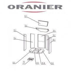 Oranier Kiruna 4 Serie 2 Umlenkung, Umlenkstein unten 35.6 - 2904396000