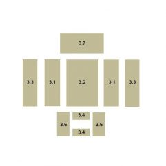 Oranier Kiruna 8 Serie 1 Schamottstein Pos. 3.1 - 5567406000
