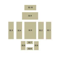 Oranier Polar 4 Serie 2 Schamottsteine Pos. 32.6 - 2910387000