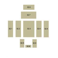 Oranier Polar 6 Serie 2 Schamottstein Pos. 32.5 - 2906560000
