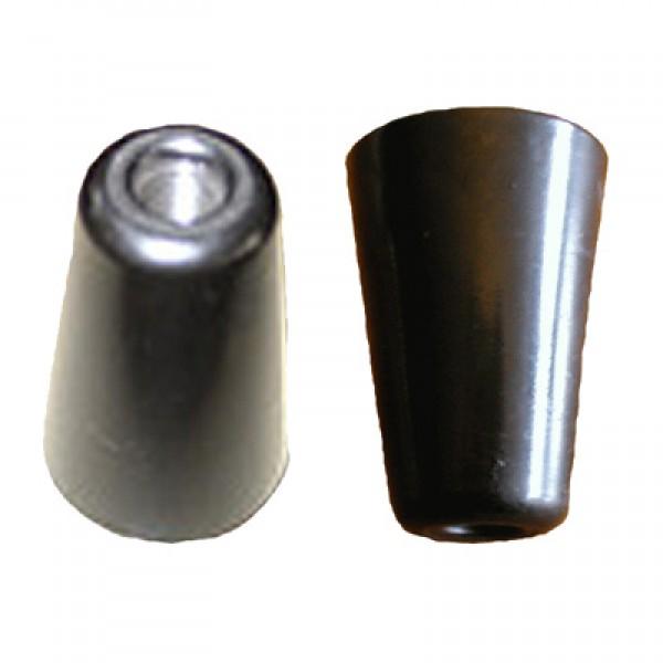 Schwarze Türgriffe Griffe Dovre T 2000, T 2700 GL M8 Gewinde