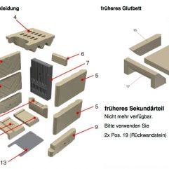 Schmid SH 9 D, SD HB 9F Gussplatte, Gussruückwand, 260 x 450 Pos. 7 - 67/2010-1203