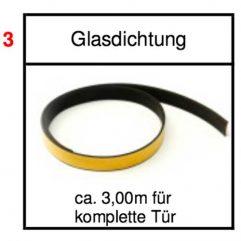 Schmid Lina 6745 51 57 80 s/h Glasdichtung 8x2mm - 75/1923-0821 Ersatzteile