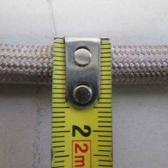 Justus Grönland 6 4673 Türdichtung grau 3m 10mm - 2909400000