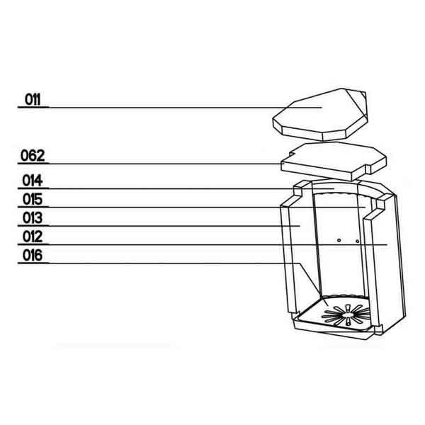 Oranier Dio 150 W Rost Feuerrost Kaminrost Ersatzteile Pos 16