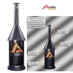 Firestar DN 550 Aztekenofen Grillkamin