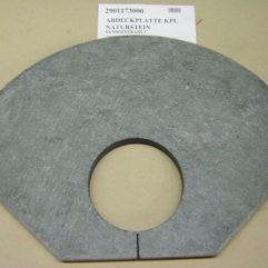 Oranier Polar 6 obere Specksteinplatten, Natursteinplatte, Abdeckplatte sandgestrahlt - 2901173000