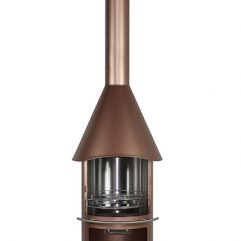 firestar DN 650 Aztekenofen Gartenkamin bronze