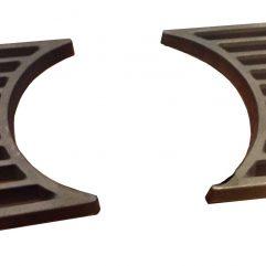 Leda Rubin K19 K18 K17 K13 K12 Halbrost 14 x 20 cm - 2 Stück - Ersatzteile - 1005-00008