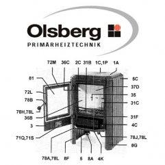 Olsberg Skagen 5 Lasche 20x2,0x280 abgew.10 Grad Pos. 72 M - 11/2051.0082