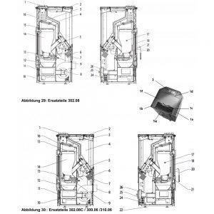 Haas+Sohn Haas Eco-Pellet 302.08 Zugumlenkung Umlenkplatte Pos. 15 - 0530217105701