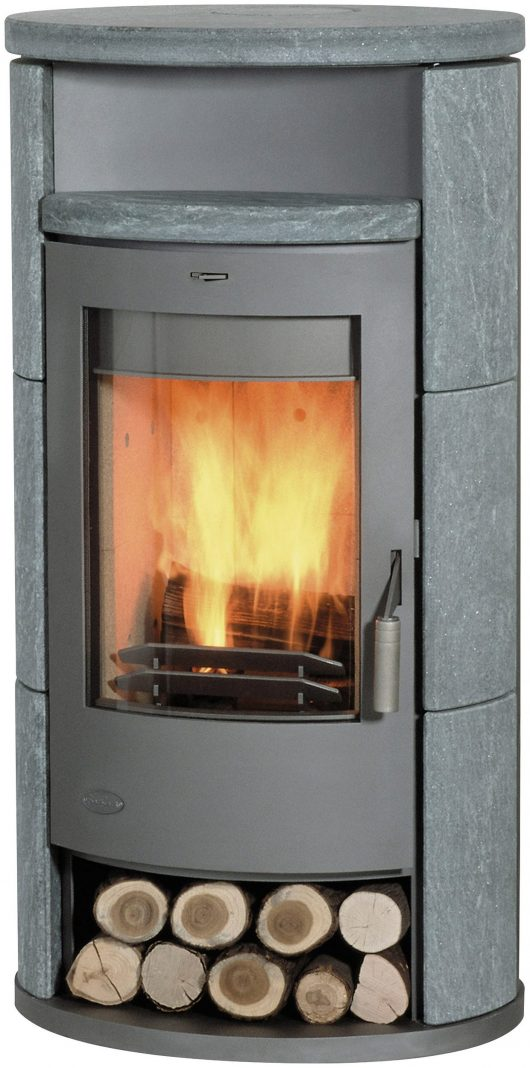 Fireplace ALICANTE Speckstein Kaminofen K1263